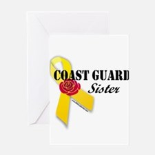 Unique Friends relatives coast guard Greeting Card