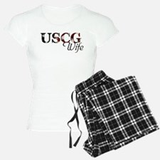 USCG Wife (Flag) Pajamas