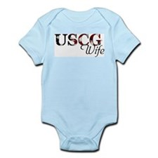 USCG Wife (Flag) Infant Bodysuit