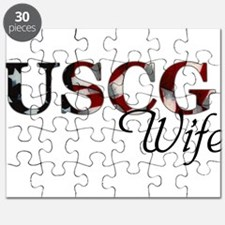 USCG Wife (Flag) Puzzle