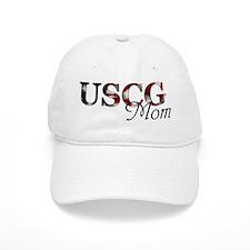 Mom USCG_flag .png Baseball Cap
