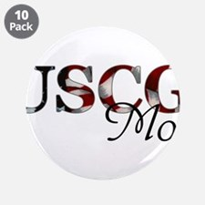 """Mom USCG_flag .png 3.5"""" Button (10 pack)"""