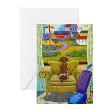 Cute Chairs Greeting Cards (Pk of 10)