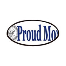 Funny Proud navy mom Patch