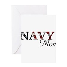 Cool Navy dad Greeting Card