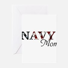 Unique Proud navy mom Greeting Cards (Pk of 10)