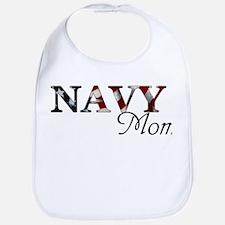 Cute Military mom Bib