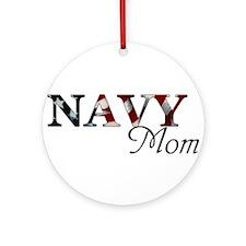 Cute Military bride Round Ornament