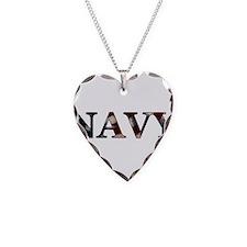 Unique Navy Necklace