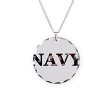 Unique Navy Necklace
