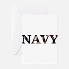 Funny Proud navy mom Greeting Cards (Pk of 10)