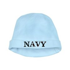 Support our troops baby hat