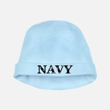 Cute Proud navy girlfriend baby hat