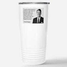 PRES40 INDIVIDUALS Thermos Mug