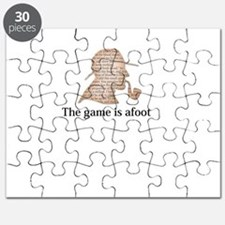 the game is afoot Sherlock Holmes mystery t Puzzle
