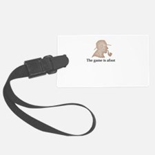 the game is afoot Sherlock Holme Luggage Tag