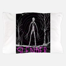 creepy thin slender skinny man Pillow Case
