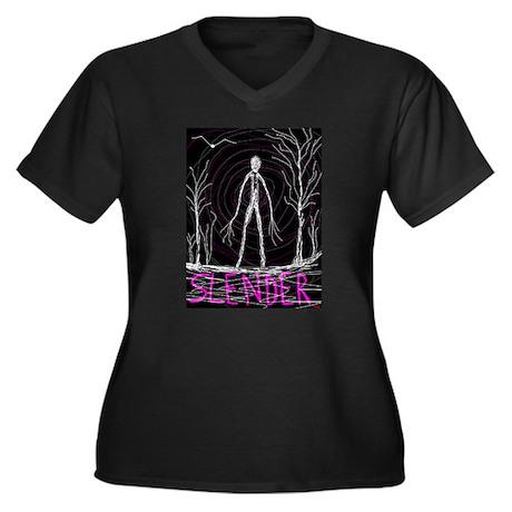 creepy thin slender skinny man Plus Size T-Shirt