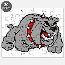 grey bulldog Puzzle