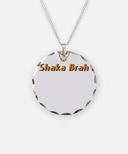 shaka brah zip line Necklace