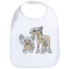 Chinese Crested Dog Breed Bib