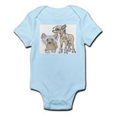 Chinese Crested Dog Breed Infant Creeper