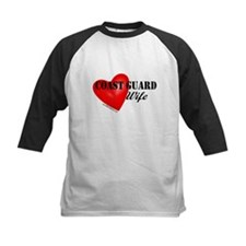 Red Heart_Coast Guard_Wife Baseball Jersey