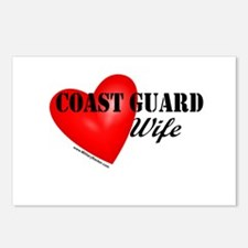 Red Heart_Coast Guard_Wif Postcards (Package of 8)
