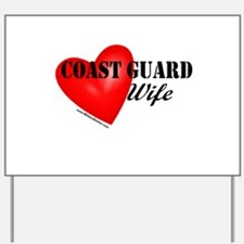 Red Heart_Coast Guard_Wife.png Yard Sign