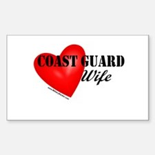Red Heart_Coast Guard_Wife Decal