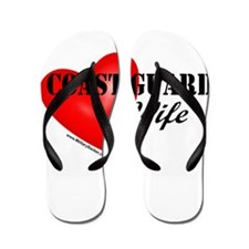 Red Heart_Coast Guard_Wife.png Flip Flops