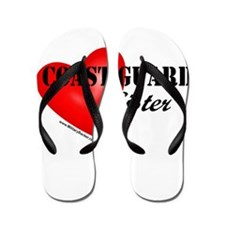 Red Heart_Coast Guard_Sister.png Flip Flops