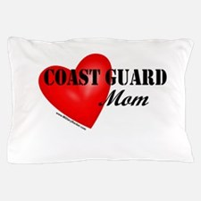 Red Heart_Coast Guard_Mom.png Pillow Case