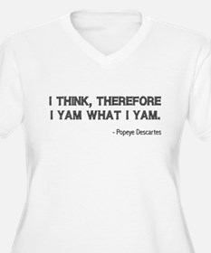 I Think Therefore I Yam T-Shirt