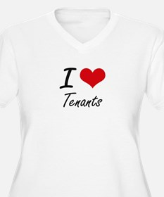 I love Tenants Plus Size T-Shirt