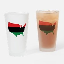 African American _ Red, Black & Green Colors Drink