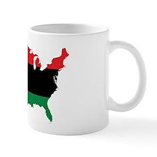 African American _ Red, Black & Green Colors Mugs