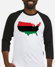 African American _ Red, Black & Green Colors Baseb
