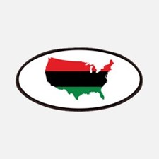 African American _ Red, Black & Green Colors Patch