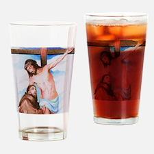 Cute Order of saint anna cross 10x10 Drinking Glass