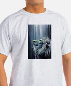 Unique Lion and lamb T-Shirt
