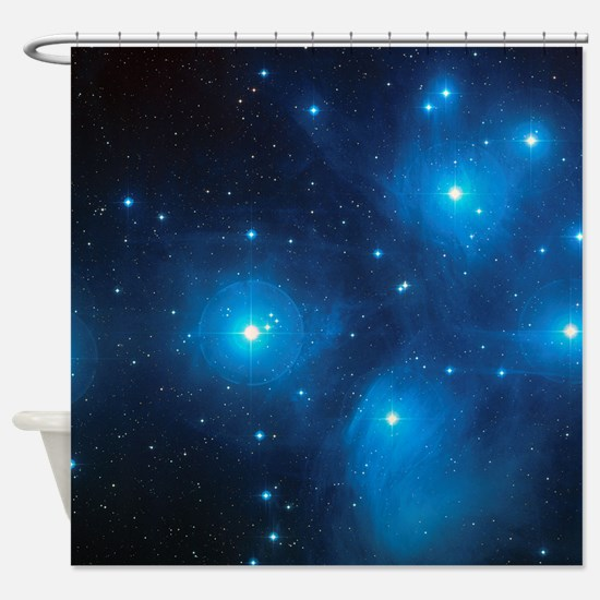 PLEIADES Shower Curtain