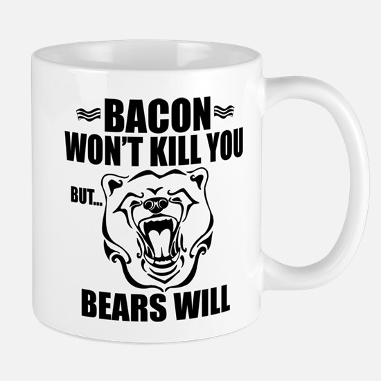 Bacon Bears Mug