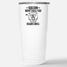 Bacon Bears Travel Mug