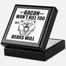 Bacon Bears Keepsake Box