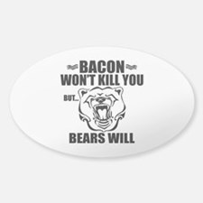 Bacon Bears Decal