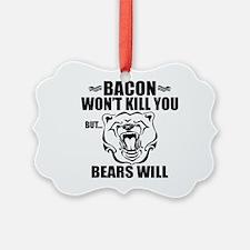 Bacon Bears Ornament