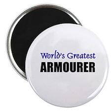 Worlds Greatest ARMOURER Magnet