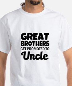 Great Brothers get promoted to Uncle funny T-Shirt