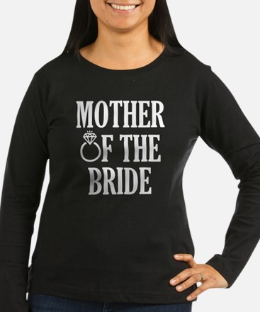 Mother of the Bride wedding Long Sleeve T-Shirt